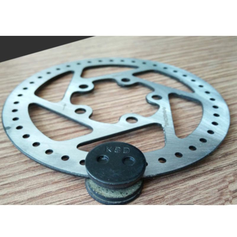 Scooter Disk Brake Disc Rotors Pads For Xiaomi Mijia M365 Electric Skateboard Replacement Parts Friction plate