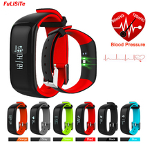 Heart Rate Smart Bracelet Blood Pressure Activity Monitor Bracelet Waterproof Fuelband Smart Band for Android ios