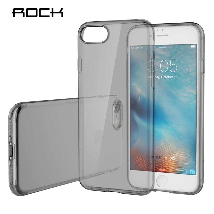 Rock para apple iPhone 7/7 plus TPU crystal Funda de silicona Funda - Accesorios y repuestos para celulares - foto 3