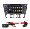 1024*600 Quad Core Car DVD Navigation for BMW E90 Android 5.1 GPS Wifi 3G Bluetooth Radio USB SD Canbus Free Camera+8GB map