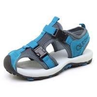 Boys sandals 2019 new summer soft bottom non slip beach shoes casual baotou breathable sandals