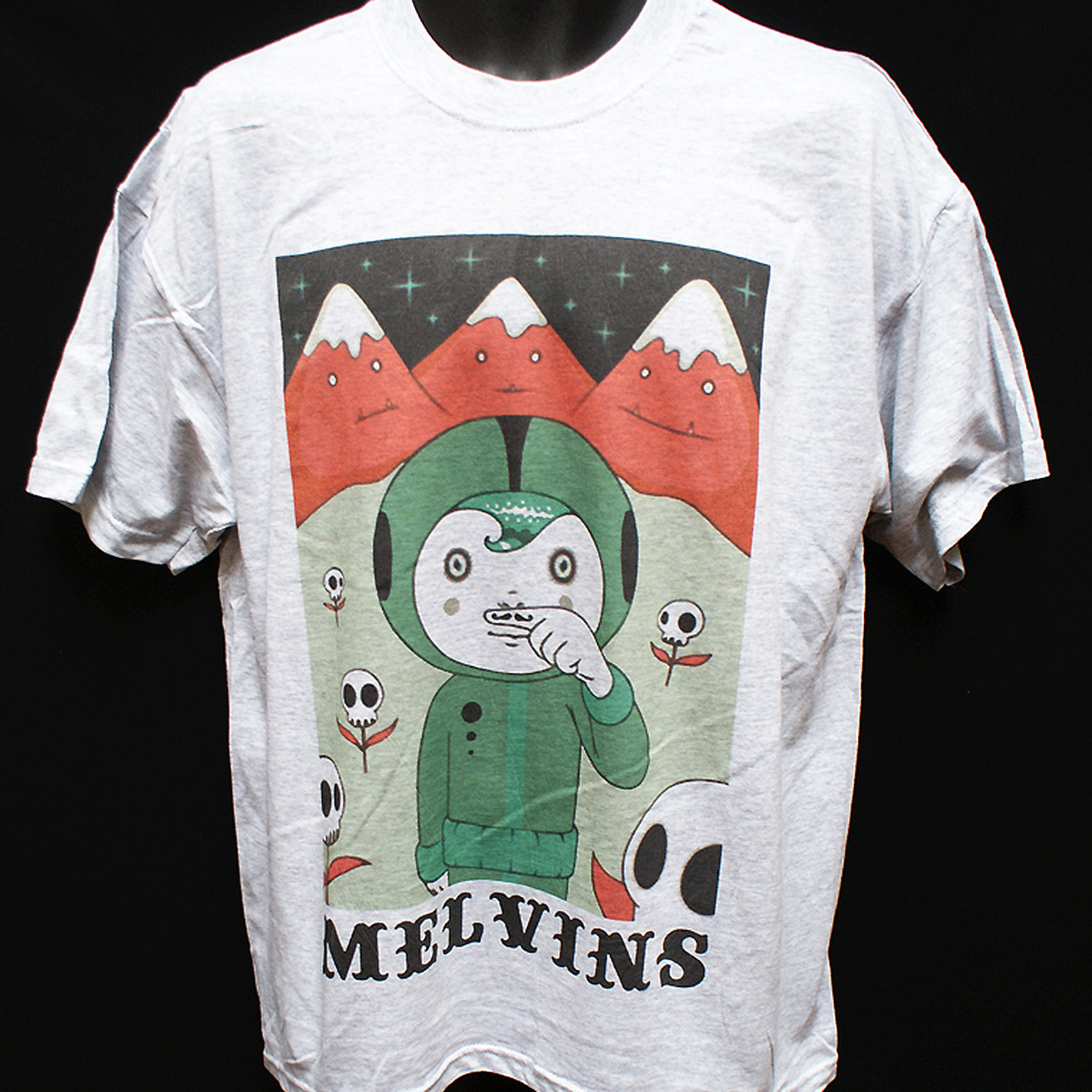 The Melvins Rock Band Legend Men/'s Black T-Shirt Size S to 3XL