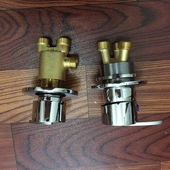 MTTUZK-Jacuzzi, accesorios para grifos, tipo dividido, interruptor de mezcla de agua caliente y fría, separador de agua 1 en 2, válvula de conmutación de baño