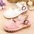 Mocasines de cuero Del Bebé Niño Zapatos de Los Cabritos de la Muchacha Sapato infantil Menina Primer Caminante Del Bebé Artículos De Goma 603172