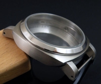 Case de relógio de aço inoxidável 44mm  adequado para relógio eta 6497 6498 st36 moletom 917 921