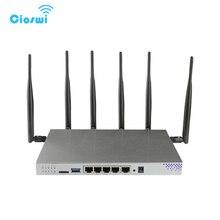 Orijinal zbt WG3526 Yönlendiriciler mt7621 yongaseti openwrt 5 gigabit portu 11ac dual band router ile wifi desteği 3g 4g SIM kart yuvası