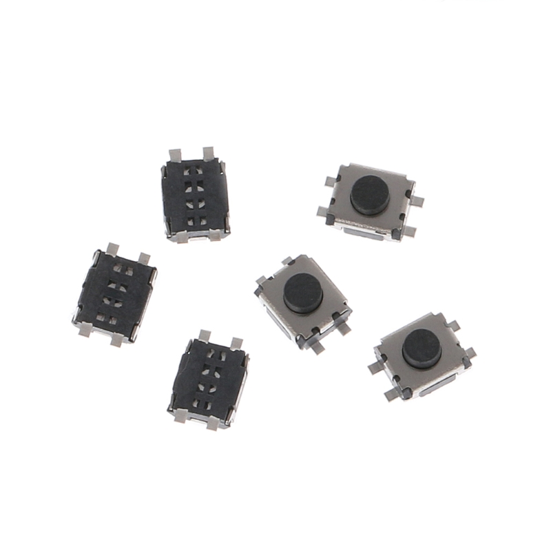 100 Pcs 3x4x2mm 4 Pin SMD Micro Momentary Push Button Tactile Switch