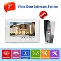 "1v1 Wired Intercom System 7"" LCD Monitor Home Security Video Door Bell Phone Night Vision IP65 Rainproof Outdoor Camera 800TVL"