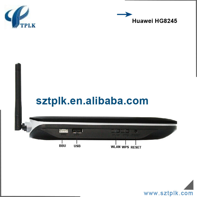 US $65 0 |Original Huawei router HG8245 GPON ONT 4GE+2POTS+WIFI+USB GPON  ONU English firmware SIP-in Fiber Optic Equipments from Cellphones &