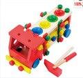 Free selos, brinquedos de madeira, brinquedos educativos para crianças, parafuso desmontagem, batida de montagem montagem de jogo