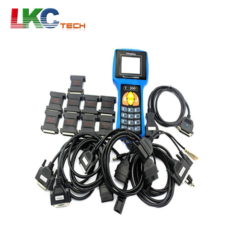 Newest Version T300 Key Programmer v14.9 & V15.3 machine T code english and spanish options T 300 with High Quality