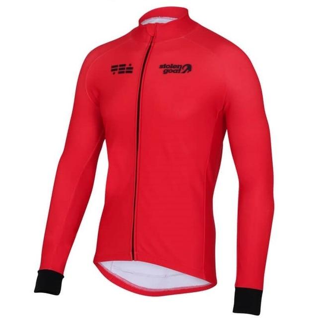 Stolen Goat CYCLING JERSEY LONG SLEEVE MEN 2018 New cycling clothing city bike cycle wear road racing shirt MTB riding clothes 2