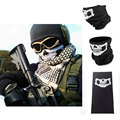 Skull Face Masks Halloween Party Scary Funny Masks  Multi Function Headwear Hat Scarf Neck Scary Motorcycle Sport Face Winter Sk