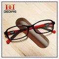 Crianças de Silicone Óculos Óptica Óculos De Armação Meninos Meninas Miopia Ambliopia DD0288-1 Leve Óculos de lente Clara