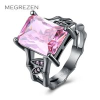 MEGREZEN Vintage Wedding Ring Alibaba Express Costume Jewelery Rings Accessories Wholesale China Bijoux Femme Marque De