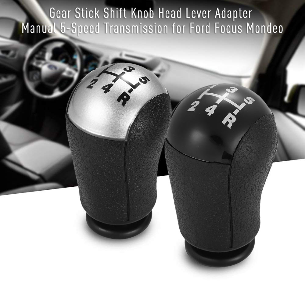 5 Speed Gear Shift Knob Head Car Gear Shift Knob Manual Replacement
