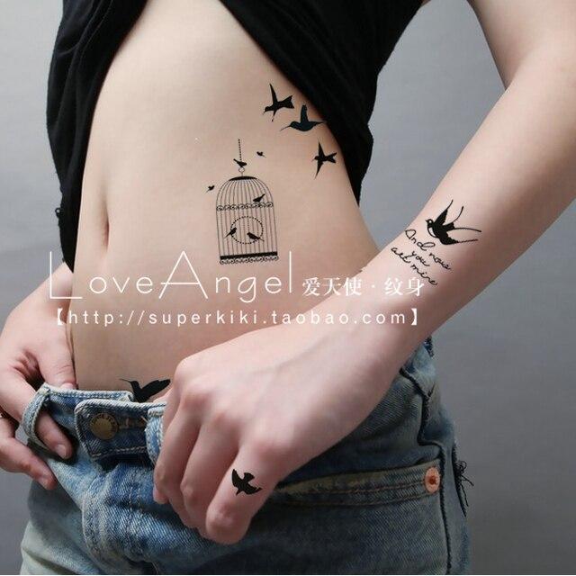 Populaire autoadesivi del tatuaggio impermeabile da polso femminile  MX65