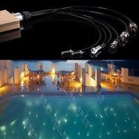Ip68 небольшой утосветодио дный пленный светодиодный волоконно оптический плавательный бассейн свет