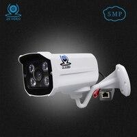 ZSVEDIO IP Cameras NVR 5MP IP Camera Alarm System H 265 POE CCTV Camera IP Cameras