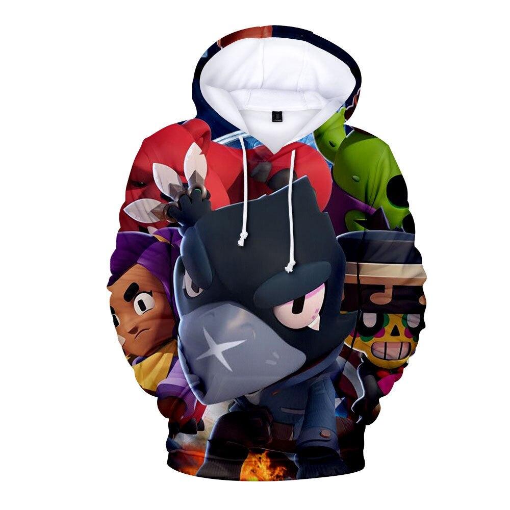 New Game Honkai Impact 3D Printed Hoodie Casual Sweatshirt Hooded Pullover Tops