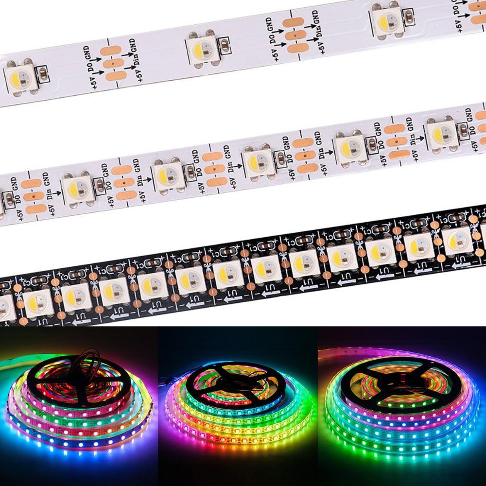 Rgbw Adressierbaren Pixel Chips Matrix Auf Kühlkörper Pcb Board Für Arduino Diy 5 V Dc 10 ~ 1000 Stücke Sk6812 ähnlich Ws2812b