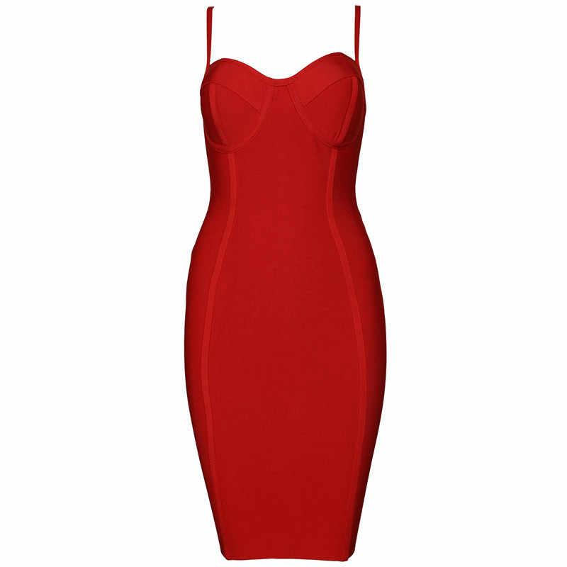 למעלה איכות סלבריטאים אדום זהורית להחליק מיני תחבושת שמלת Bodycon ערב המפלגה שמלה