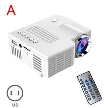 HOT Portable UC28 PRO HDMI Mini LED Projector Home Cinema Theater AV VGA USB Drop shipping