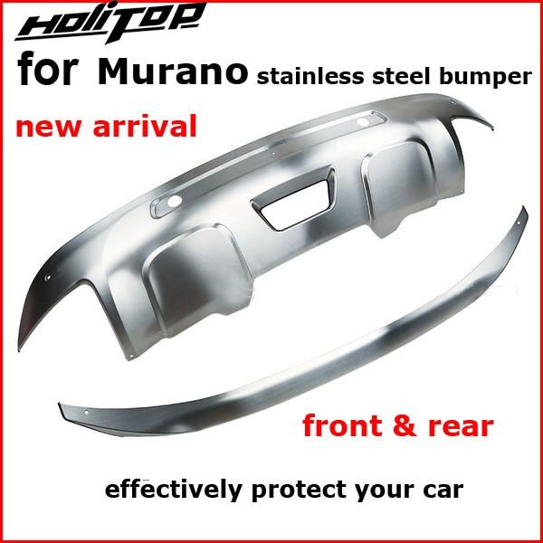 304 stainless steel skid plate bumper protector bull bar for Nissan Murano 2015 2016 2017 2018