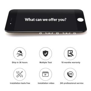 Image 2 - 10 قطعة ل Tianma جودة آيفون 6S شاشة LCD مع اللمس محول الأرقام عرض الجمعية استبدال الأبيض والأسود حامل كاميرا