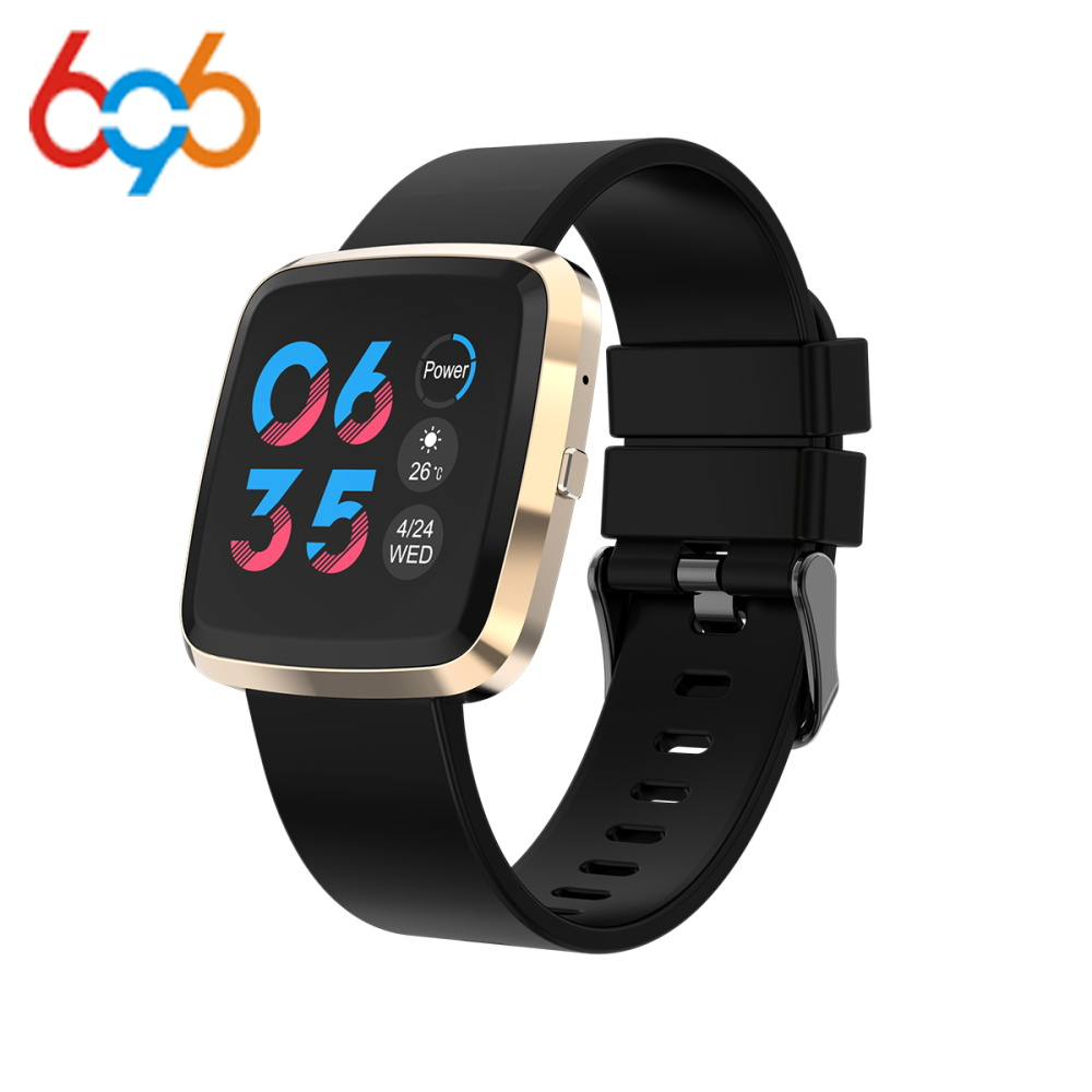 696 T5 Color Screen Smart Bracelet IP68 Fitness Tracker blood pressure Heart Rate Monitor Smart band For Android IOS phone