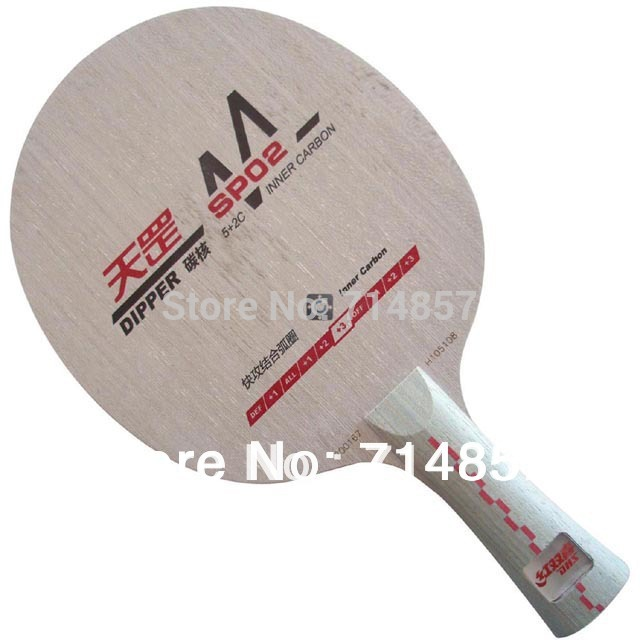 DHS Dipper DM.SP02 (SP02, SP-02, SP 02) shakehand table tennis / pingpong blade dhs dipper sp02 sp 02 sp 02 inner carbon all table tennis blade fl for pingpong racket