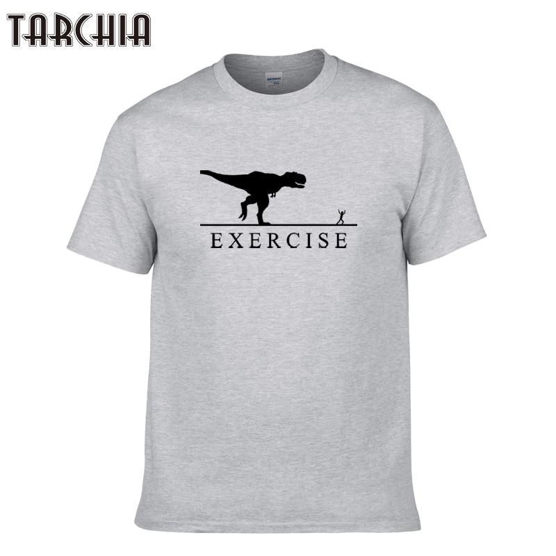 TARCHIA 2019 new summer exercise t-shirt male cotton tops tees men short sleeve boy casual homme tshirt t shirt plus fashion