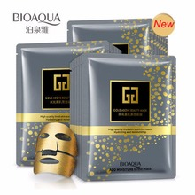Hot 30g BIOAQUA Brand Facial Mask Gold Over Beauty Hydrating Moisturizing Face Mask Gratis frakt