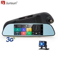 Junsun E515 Car DVRs 6 5 Android 5 0 Mirror DVR 3G Car DVR Bluetooth Rearview