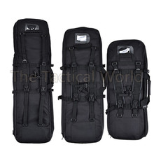 Tactical Airsoft 85 100 120cm 1.2M Padded Carbine Rifle Gun Case Bag Fishing Rod Boxes Black Green Military Hunting Accessories