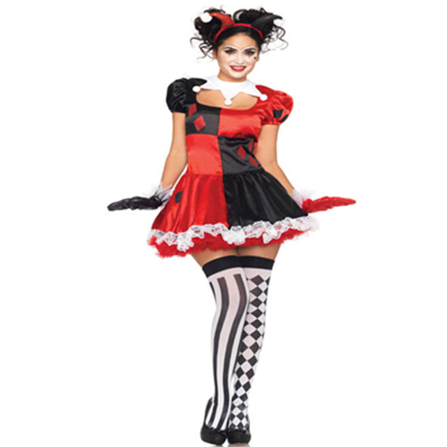 Make Your Smile Carnival Halloween Party Adult Sexy Womens Clown Costume Sexy Circus Outift Cirque Clown  sc 1 st  AliExpress.com & Make Your Smile Carnival Halloween Party Adult Sexy Womens Clown ...