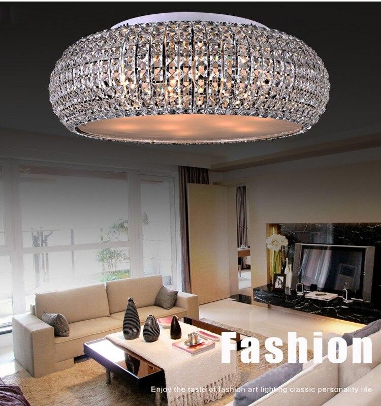 Высокое качество Современный хрустальный потолочный светильник современный потолочный светильник (ширина 56 см, 42 см и 32 см) + Бесплатная дос