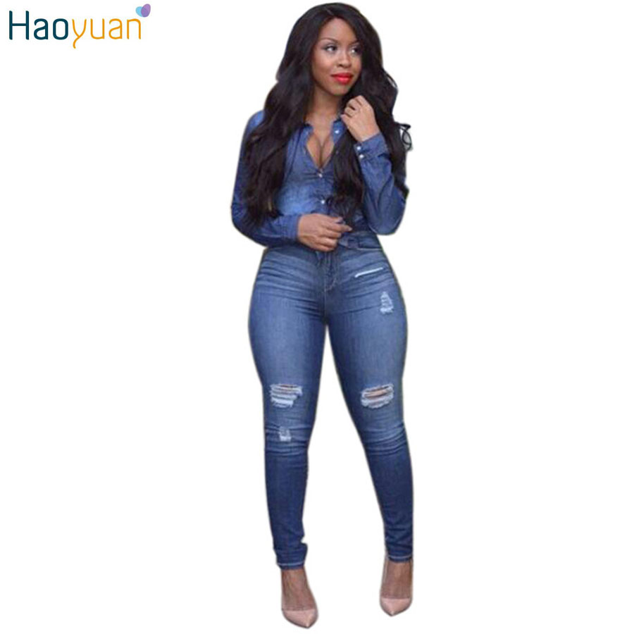 Creative Women Jeans 2017 New Spring Autumn High Waist Skinny Slim Denim Jeans