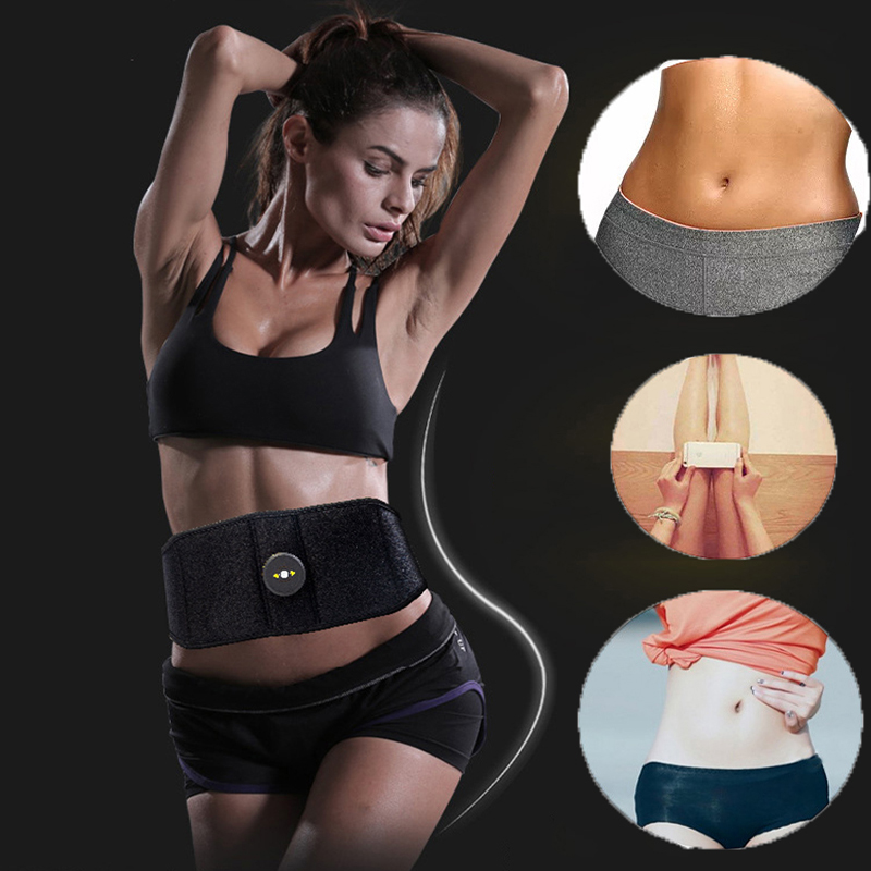 Vibration Fitness Massager Fit Vibration Abdominal Muscle Trainer Body Slimming Machine Fat Burning Abdominal Loss Exercise