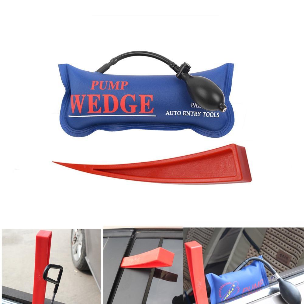 WEYHAA PDR Tools Pump Wedge Auto Air Wedge Airbag Lock Pick Set Professional Open Car Door Lock Opening Tools Ferramentas in Sheet Metal Tools Set from Automobiles Motorcycles