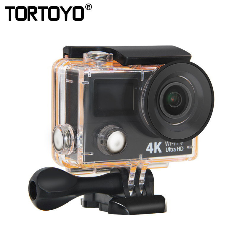 H3/H3R Action Camera 4K Wifi Ultra HD Waterproof Diving Swim Sports DV Mini Cam Dual Screen FHD Sports Video Recording Camcorder wholesale fpv camera mini 4k 170 degree wifi dv action sports camera video camcorder