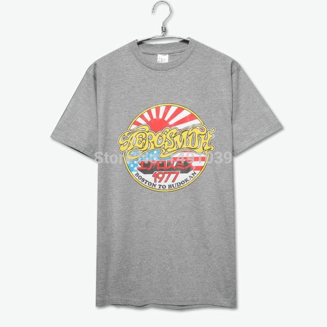 5c300b55470 Aerosmith 1977 boston to budokan cotton t shirt-in T-Shirts from ...
