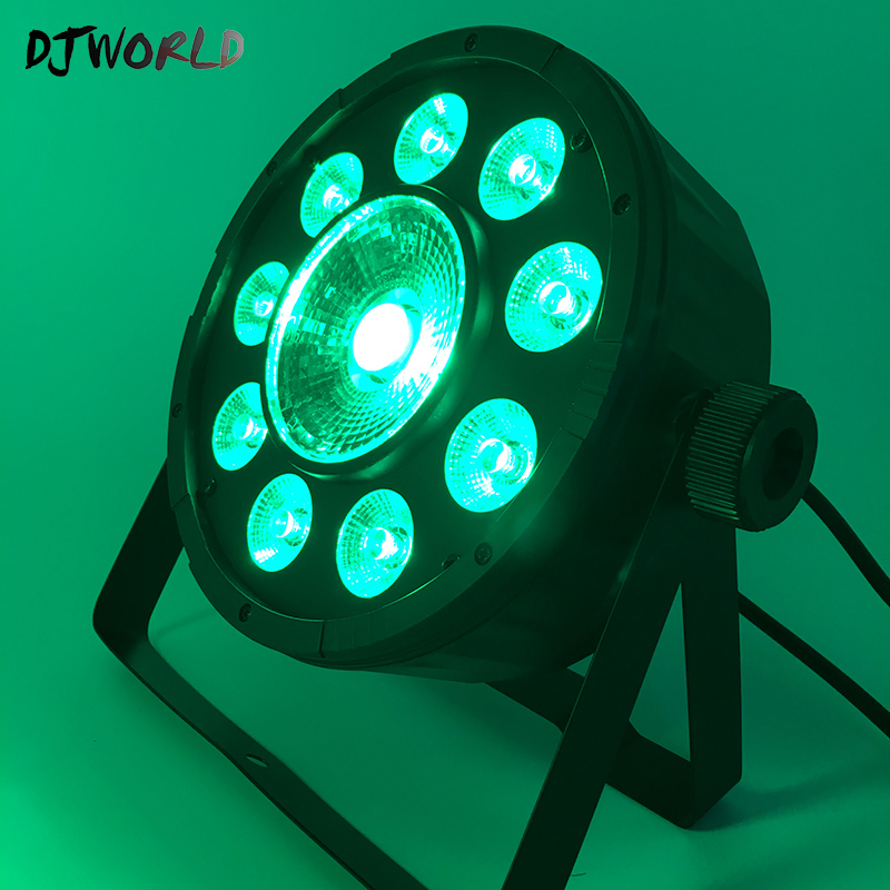 Flat Par 9x10W 30W RGB DMX512 Stage Effect Lighting For Dance Floor DJ Equipment Party Entertainment Fast ShippingFlat Par 9x10W 30W RGB DMX512 Stage Effect Lighting For Dance Floor DJ Equipment Party Entertainment Fast Shipping