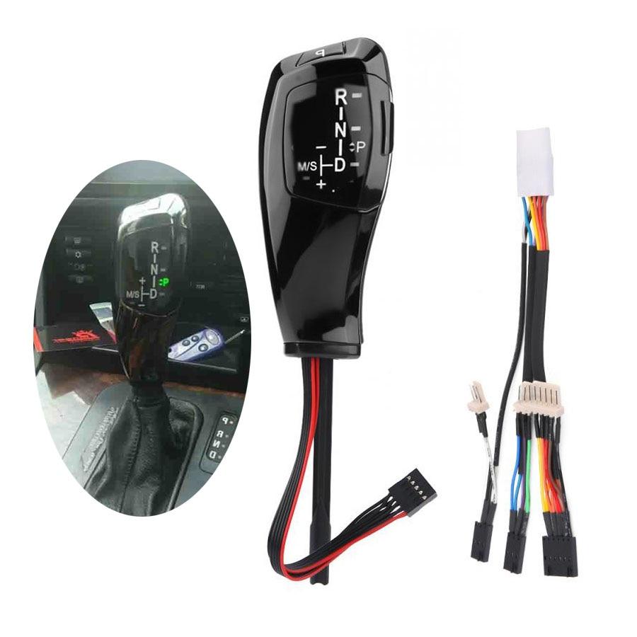 Voiture RHD Automatique Tête D'engrenage LED Pommeau de levier De Vitesses manette de vitesse levier Pour BMW E81 E82 E84 E87 E88 E89 E90 E91 E92 E93