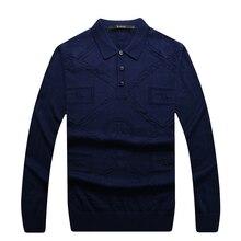 Billionaire Italian Couture sweater men's 2016 autumn turned collar new style fashion comfort pretty gentle free shipping