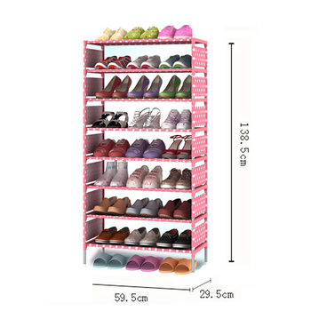 8 layers Shoe Rack organizers Thick Non-woven  Fabric