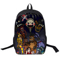 (22 Types) 2016 Backpack Five Nights at Freddy's School Bag For Teenagers Girls Backpack Tokyo Ghouls Totoro Juvenile Backpacks