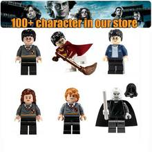 Single Harry Potter Hermione Ron Lord Voldemort Draco Malfoy Building Blocks Sets Models figures characters Toys For Children(China (Mainland))