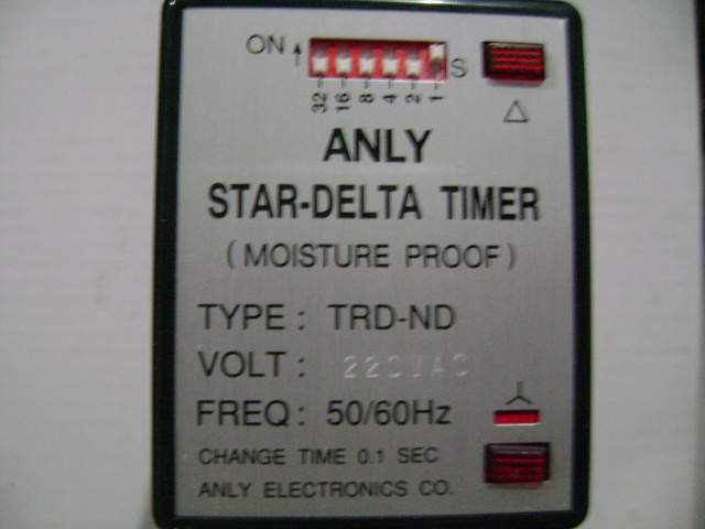 Original authentic Taiwan ANLY Anliang TRD-ND starter motor relay