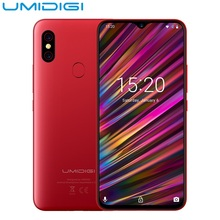 UMIDIGI F1 Play 6.3inch Android 9.0 4G Phablet Smartphone Helio P60 Octa Core 6GB